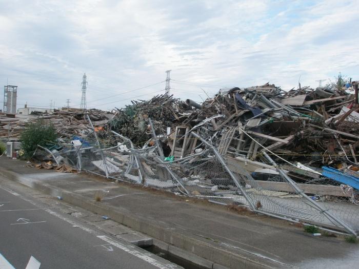 東日本大震災被災地視察 044